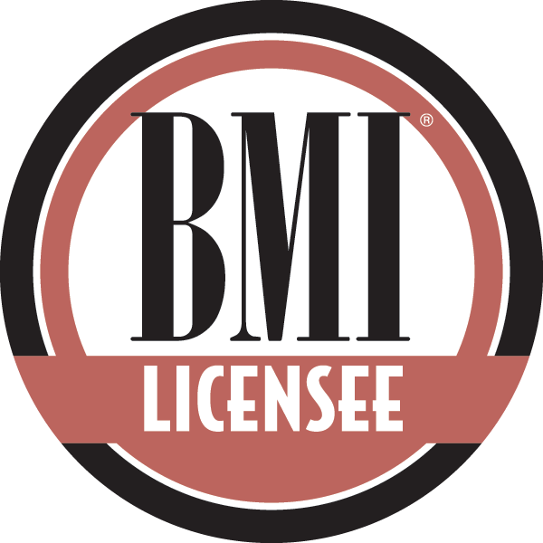 Licensed by BMI to play copyrighted music.